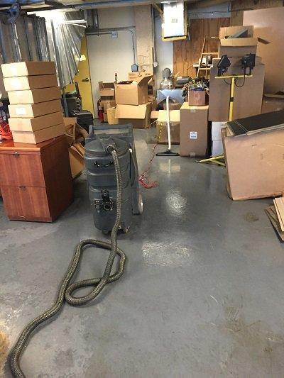 dehumidify basement