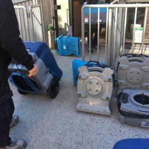 water damage restoration equipment in Greenwich Village